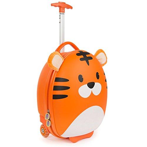 boppi Tiny Trekker Maleta Trolley Infantil Equipaje Cabina 2 Ruedas - 17 litros - Tigre