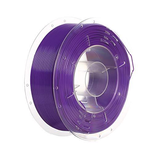 SainSmart PRO-3 PLA - Filamento para impresora 3D, 1,75 mm, sin enredos, bobina de 1 kg, color morado