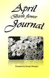 April Birth Flower Journal