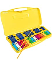 Glockenpiel carrillon metalofono SSATION SG-25C cromático, 25 notas colores con estuche y mazas - Rockmusic