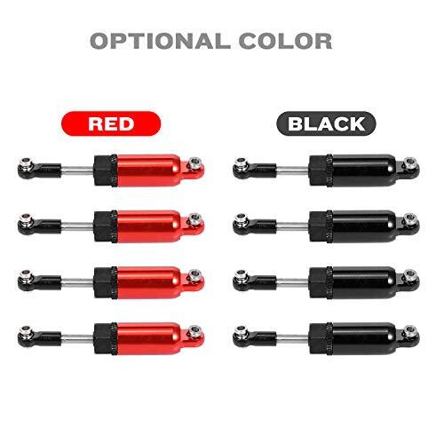 Ajcoflt Amortiguador de Amortiguador de Metal de aleaci/ón de Aluminio para D90 MN-90 MN-99 MN-91 FJ-45 RC Car 1//12 Rock Crawler Upgrade Parts