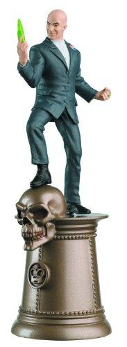 Eaglemoss DC Chess Figure & Collector Magazine #38 Lex Luthor Black King