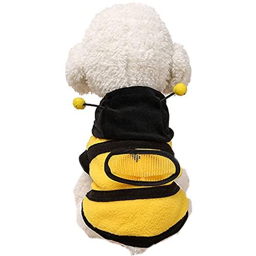 Dog Bee Costume Halloween Bumble Bee Dog Clothes...