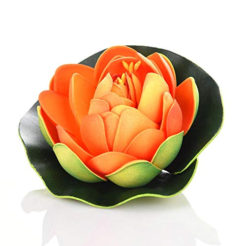 SNIIA Kunstbloemen Lotus Waterproof Floating Lotus Flower voor bruiloft aquaria Decoratie
