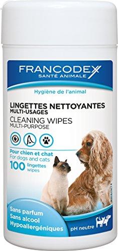 Francodex - Toallitas para Perros y Gatos 100 Unidades