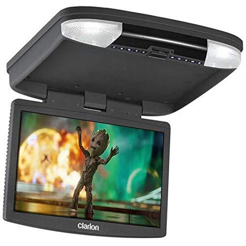 CLARION Ohm 888 – Reproductor de Video DVD + Monitor, para Coche, Color Negro