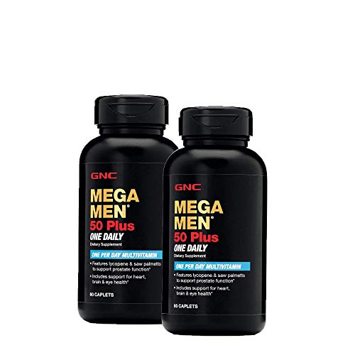 GNC Mega Men 50 Plus One Daily - Twin Pack