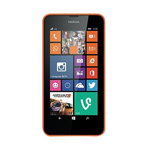 aiino Displayfolie Bildschirmschutz für Smartphone Microsoft Lumia 630, Handyzubehör - Ultra Clear