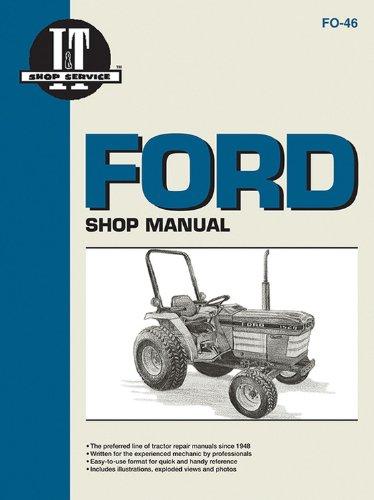Ford Shop Manual Models 1120 1220 1320 1520+ (I & T Shop Service)