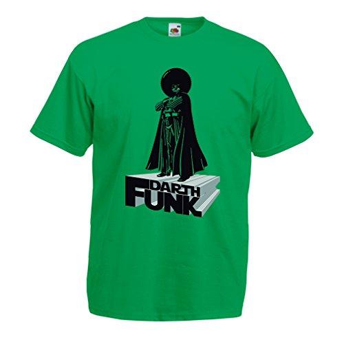 lepni.me N4347 T-Shirt pour Hommes I Love Funk (XX-Large Vert Multicolore)