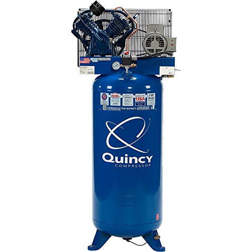 Quincy QT-54 Splash Lubricated Reciprocating Air Compressor...