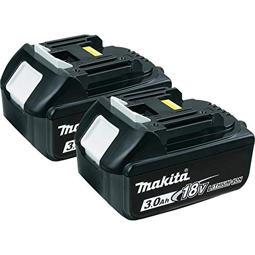 Makita BL1830-2 18-Volt 3.0 AH Battery, 2-Pack (Discontinued by Manufacturer) (Discontinued by Manufacturer)