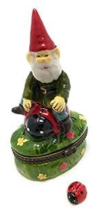 Garden Gnome Fairy Riding Trinket