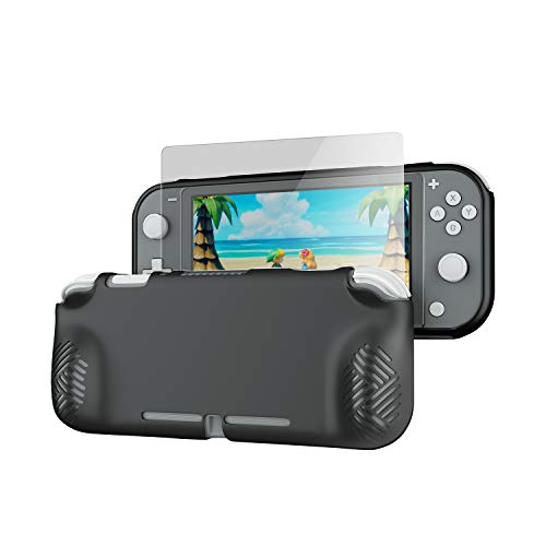 Case Cover for Nintendo Switch Lite,OIVO Soft TPU Protective Case Cover for Nintendo Switch Lite- Glass Screen Protector Included