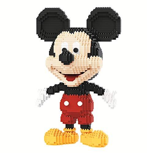 Mickey Mouse Building Blocks Nano Micro Bloques Diamante Mini Modelo De Dibujos Animados Rompecabezas 3D DIY Juguetes Educativos para Niños Regalos De Fiesta De Cumpleaños