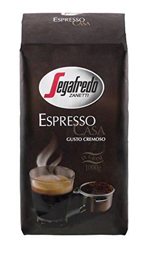 segafredo grains de café expresso Casa, pack de 1(1x 1kg)