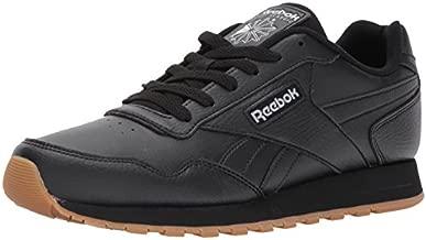Reebok Men's Classic Leather Harman-Run Sneaker, Black/Gum, 13 M US