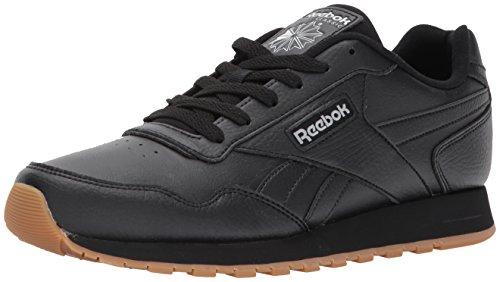 Reebok Mens Classic Harman Run Sneaker, black/gum, 11 M US