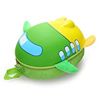 LONGHAIYUAN バックパック3Dかわいい飛行機デザインガールズボーイズ漫画の形の子供のためのバックパック航空機バックパック航空機子供スクールバッグ