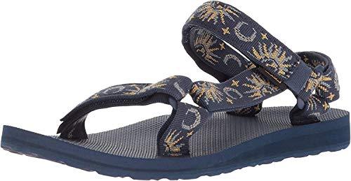Teva Women's W Original Universal Sport Sandal, sun/moon insignia blue, 9 M US