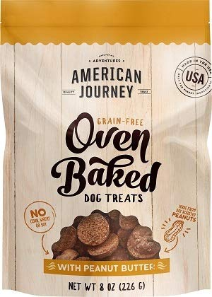 American Journey Oven Baked Dog Treats with Peanut Butter