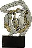 Art-Trophies AT814854 Trofeo Deportivo, Plateado, 12 cm