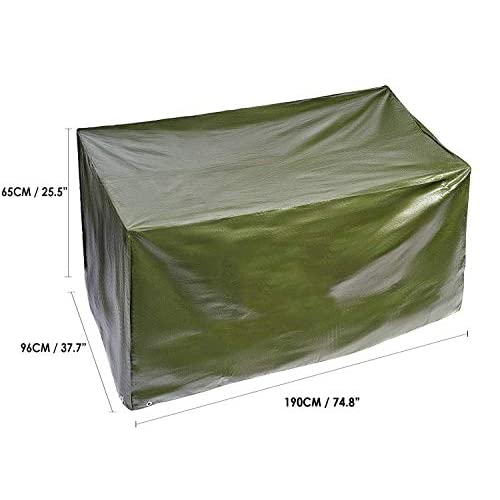 Bramble – Rectangular Waterproof Garden Patio Furniture Set Cover – 190x65x96cm