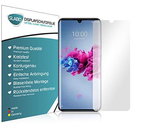 Slabo 4 x Bildschirmschutzfolie für ZTE Axon 11 5G Bildschirmfolie Schutzfolie Folie Zubehör Crystal Clear KLAR