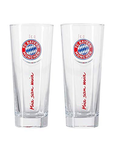 FC Bayern München Fanglas 2er Set