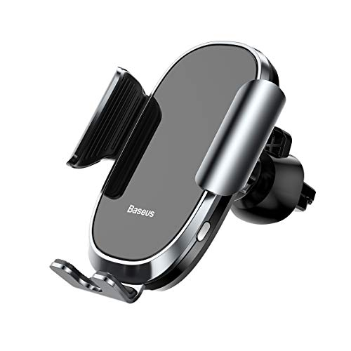 West Coach Easy Install Cell Phone Holder for car,Air Vent Phone Holder Car Mount for All The Phones,Car Phone Mount with Lock