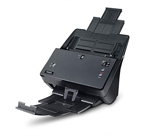 Plustek SmartOffice PT2160 Duplex Dokumentenscanner mit Ultraschall- Doppelblatterkennung und Papierwahlschalter (ADF, 600dpi, 60ppm) inkl. DocAction Software