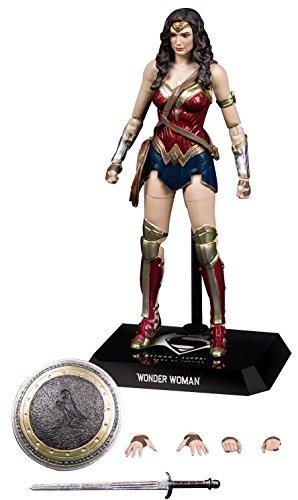 Beast Kingdom- DC Comics Statuetta Dynamic Action Wonder Woman, Multicolore (BKDDAH-002)