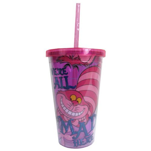 Disney Alice in Wonderland We Are All Mad Travel Cup
