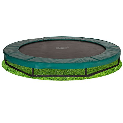 Bodentrampolin Magic Circle Pro 305 cm Grün