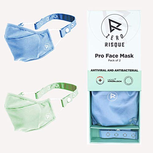 Risque Zero Pro washable and reusable Face Mask for women...