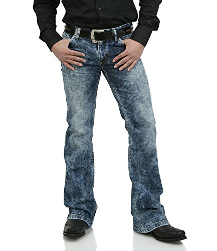 Bootcut Denim Jeans Schlaghose Star Random 30/32