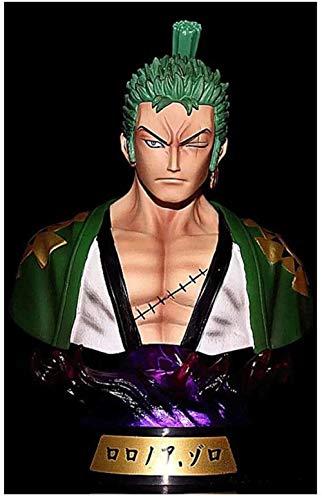 Yooped One Piece Figur Roronoa Zoro Half-Length Avatar Abbildung Anime-Abbildung Action-Figur