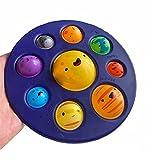 Greatangle-UK Juguete sensorial Simple hoyuelo Fidget Alivio Lindo del estrés Tablero antiestrés Autismo