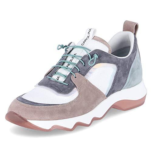 Donna Carolina Sneaker Low Größe 40.5 EU Weiß (Weiß)