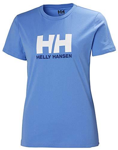 Helly-Hansen Damen HH Logo Classic Crewneck T-Shirt 509 Cornflower M