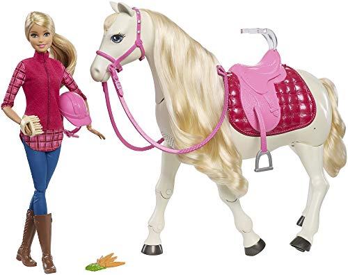Barbie Cavallo dei Sogni, Cammina, Risponde alle Azioni e al Tocco, FRV36