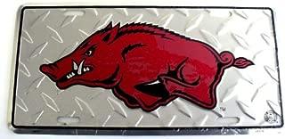 NCAA University of Arkansas Razorbacks Diamond Cut 6