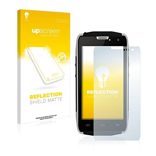 upscreen Entspiegelungs-Schutzfolie kompatibel mit Doogee Titans2 DG700 – Anti-Reflex Bildschirmschutz-Folie Matt