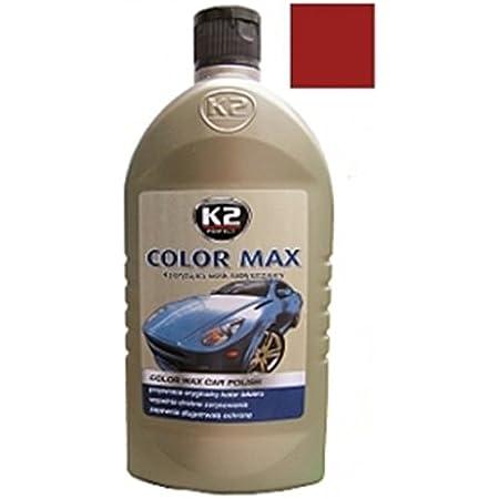 K2 Farbwachs Dunkelgrün Wachspolitur Carnauba Zum Ausbessern Lackpolitur 500ml Auto