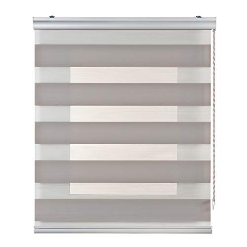 Verdunkelungsrollo für Nacht und Tag Plus, Doppelrollo für Fenster und Türen, Premium-Verarbeitung.