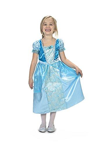 Caritan - 480009 - Robe de Princesse - 5 -7 ans - Bleu