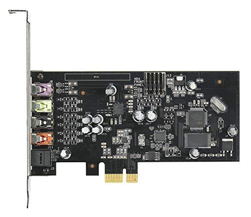 ASUS Xonar SE Interne 5.1 canaux PCI-E - Cartes sons (5.1 canaux, 24 bit, 116 dB, 110 dB, 24 bits/192 kHz, 0,00251%)