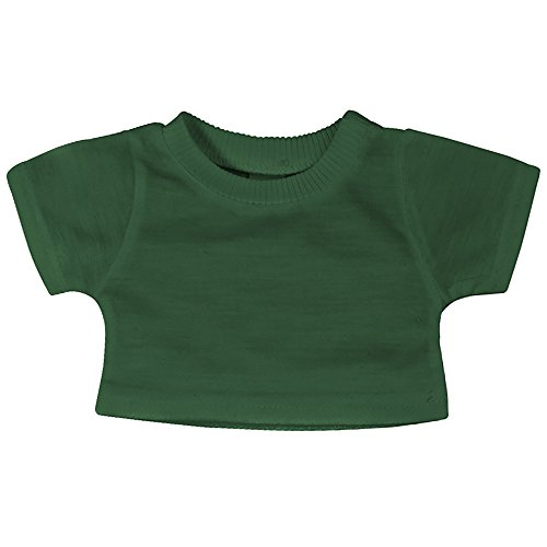 Mumbles Teddy T-Shirt (Medium) (Flaschengrün)