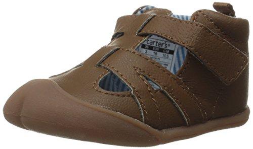 Carter's Every Step Astor Stage 1 Crawl Walking Shoe (Infant), Dark Brown, 2.5 M US Infant