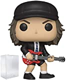 Funko Rocks: AC/DC Angus Young Pop! Vinyl Figure (Includes Compatible Pop Box Protector Case)